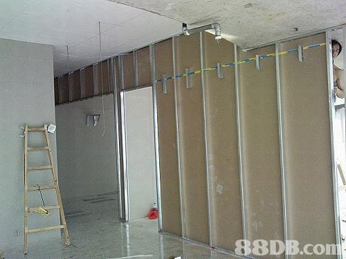 石膏板間房