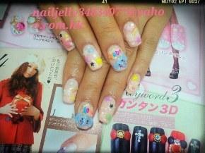 ンタン3D,nail,finger,nail care,hand,manicure