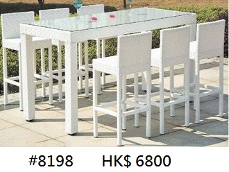 #8198 HK$ 6800,Furniture,Table,Outdoor table,Chair,