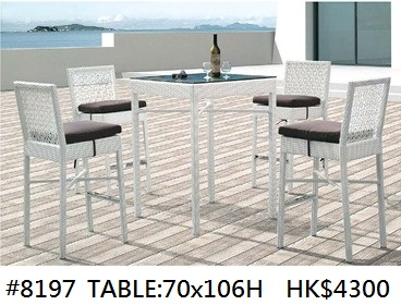 #8197 TABLE:70X106H HK$4300,Furniture,Table,Kitchen & dining room table,Chair,Outdoor table