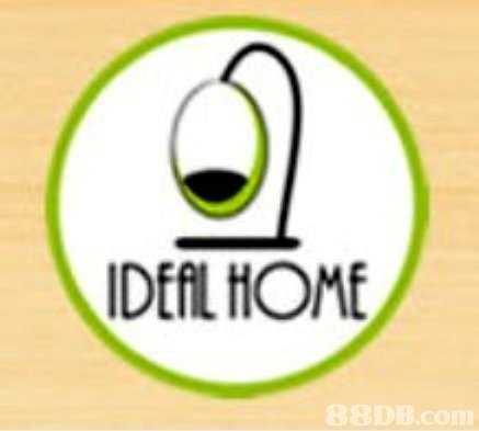 IDEAL HOME   Text,Logo,Font,Line,Graphics
