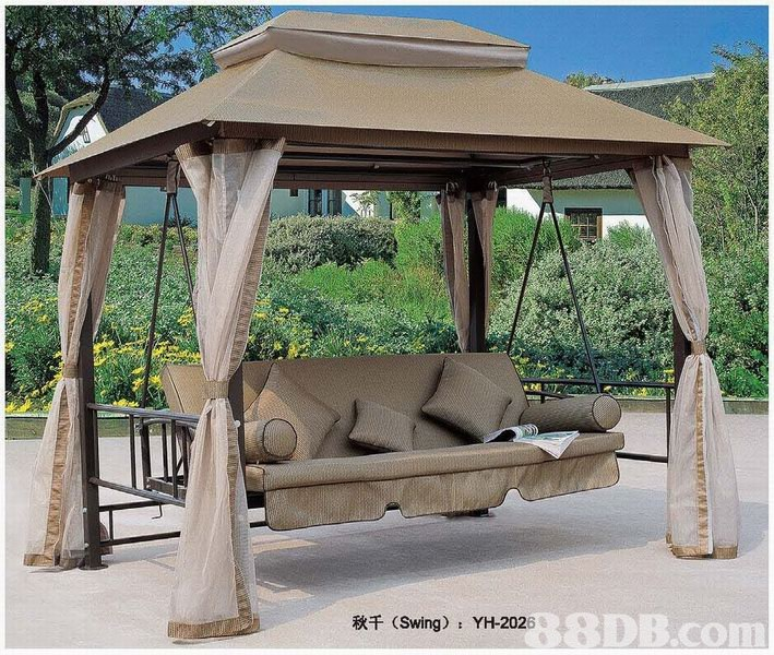38DB.com (Swing) YH-2026  Gazebo,Swing,Canopy,Pavilion,Shade