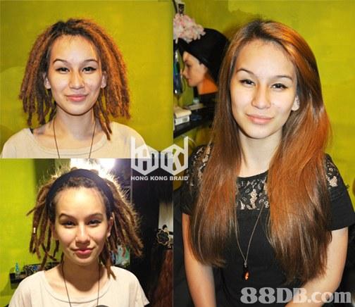 KONG BRAID   Hair,Hairstyle,Eyebrow,Hair coloring,Nose