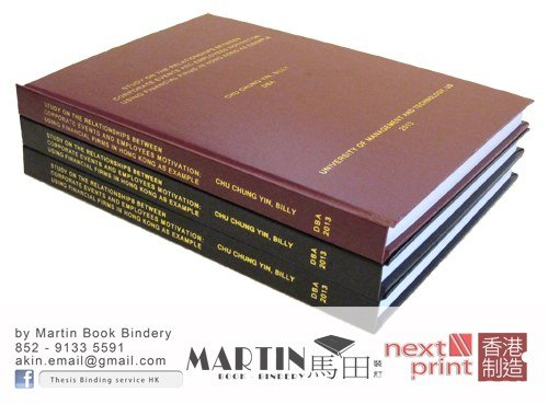 thesis bind