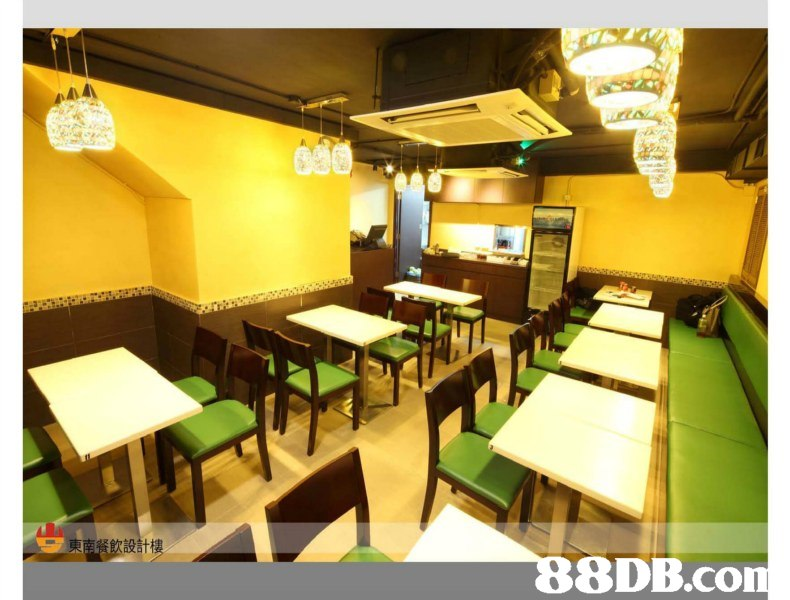 東南餐飲設計樓   Restaurant,Room,Fast food restaurant,Building,Interior design