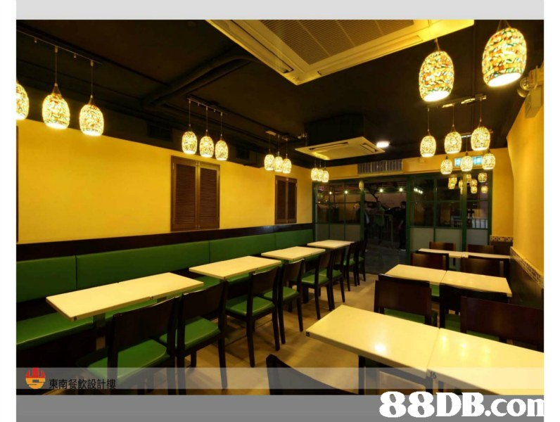 東南餐飲設計樓   Property,Building,Interior design,Fast food restaurant,Restaurant
