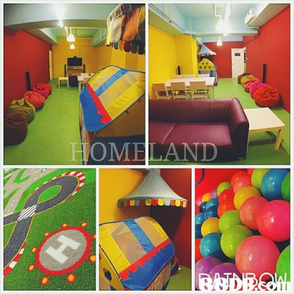 OMELAND  play,leisure,recreation room,toy,playground