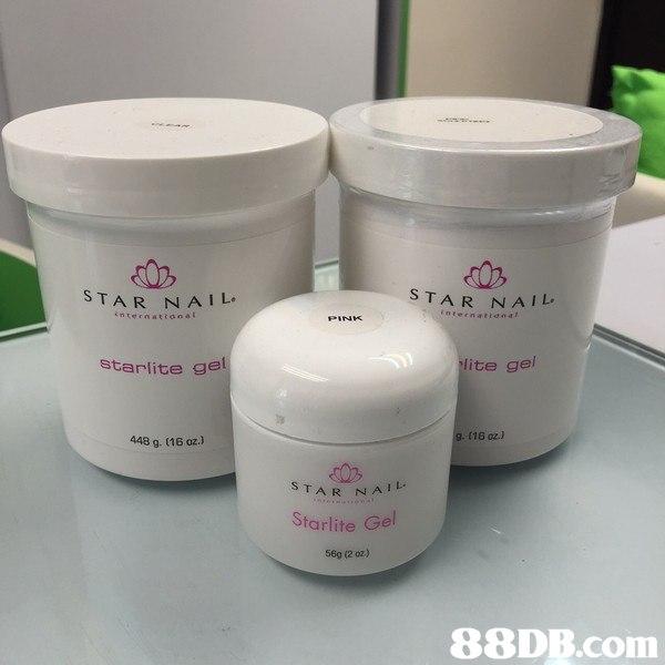 TAR NA I L STAR NA IL 1レ internatianal internattana t starlite ge lite gel g. (16 oz.) 448 g. (16 oz.) STAR NA Starlite Gel 56g (2 oz.)   product,product,cream,skin care,cream