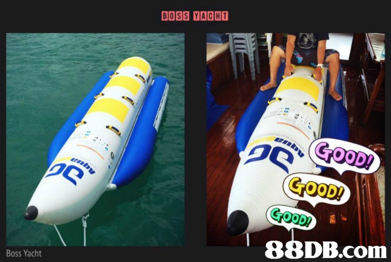 BOSS YACHT 5 GOOD GOOD!  Boss Yacht,product,product,inflatable,advertising,
