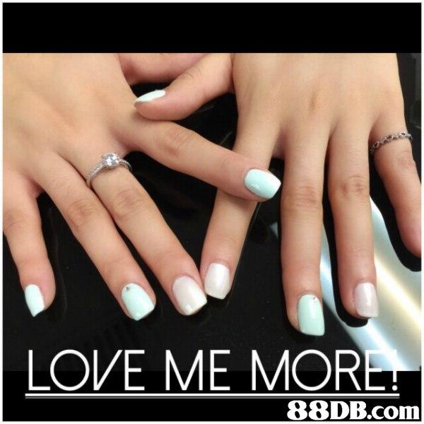 LOVE ME MOR 88DB.com  nail