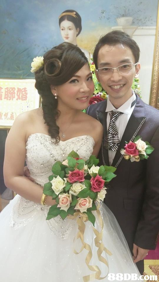 聯婚 皇悦廳 88DB.Com,flower,bride,gown,marriage,wedding dress