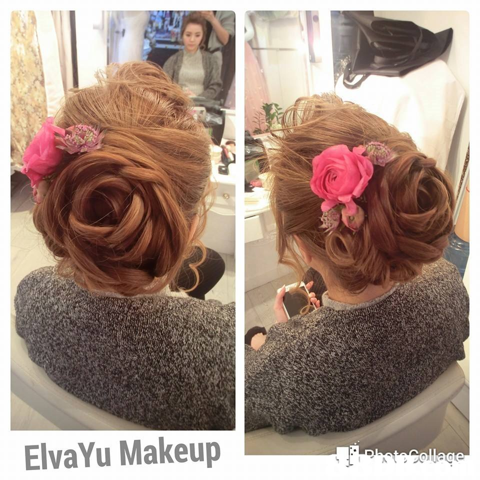 ElvaYu Makeup  hair