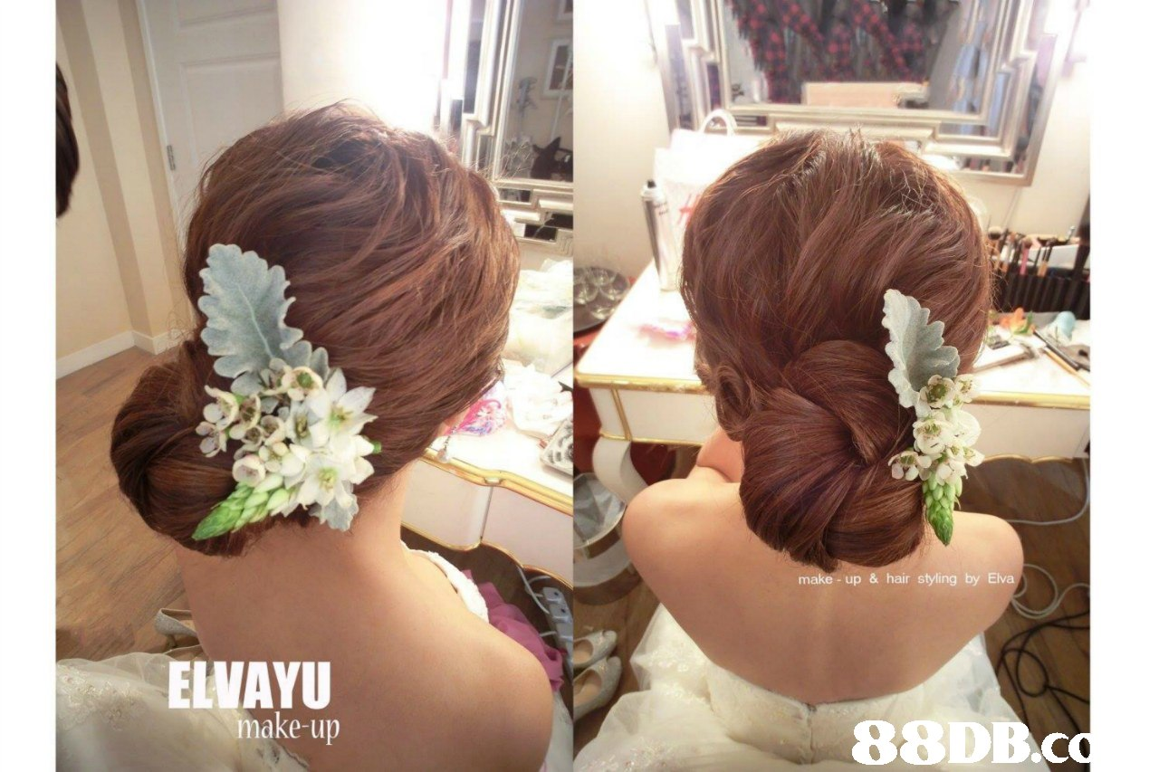 - up & hair styling by ELVAYU make-up 88DB.c  hair