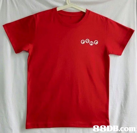T-shirt,Clothing,White,Red,Sleeve