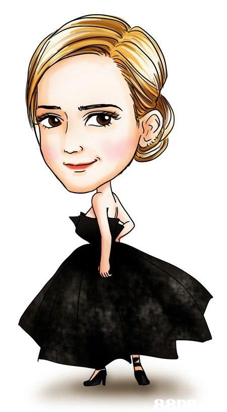 Hair,Face,Cartoon,Illustration,Fashion illustration