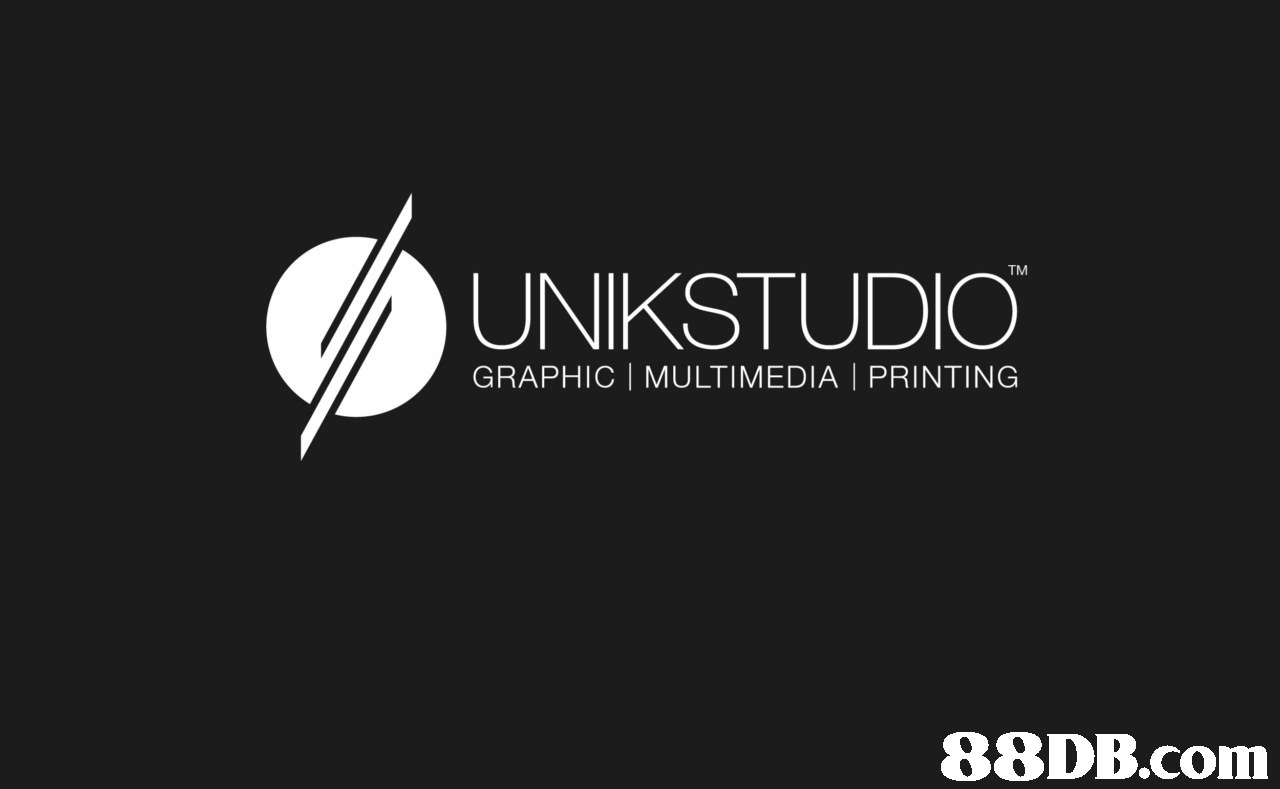 UNIKSTUDIO GRAPHIC | MULTIMEDIA | PRINTING  38DB.cor  text,black and white,logo,font,monochrome