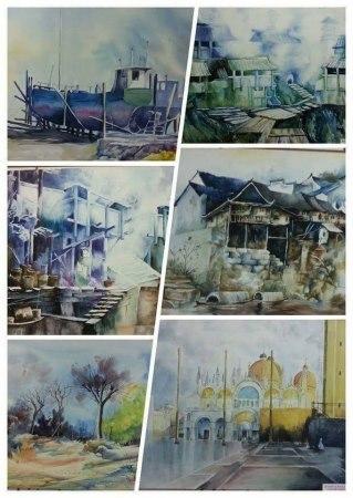 上門教畫中、西(兒童及成人):素描、油畫、中國水墨畫、書法、視覺藝術、水彩、粉彩、漫畫、木顏色等