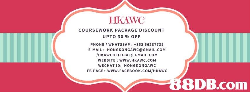 HKAWC COURSEWORK PACKAGE DISCOUNT UPTO 30 % OFF PHONE WHATSSAP: +852 66287735 E-MAIL: HONGKONGAWC@GMAIL.COM /HKAWCOFFICIAL@GMAIL.COM WEBSITE: WWW.HKAWC.COM WECHAT ID: HONGKONGAWC FB PAGE: WWW.FACEBOOK.COM/HKAWC 8DB.com  text