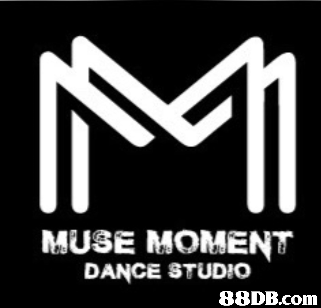MUSE MOMENT DANCE STUDIO,text,font,black and white,logo,product