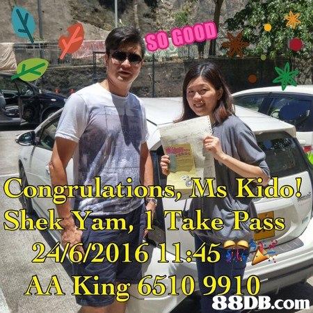do Shek Ym, 1 Take Pass 24%6/201 6/IL:45 AA Kin 6510 9910 88DB.com  car