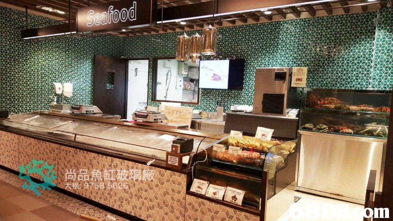 尚品魚缸玻璃廠 大撳g758 5626  buffet,countertop,bakery,