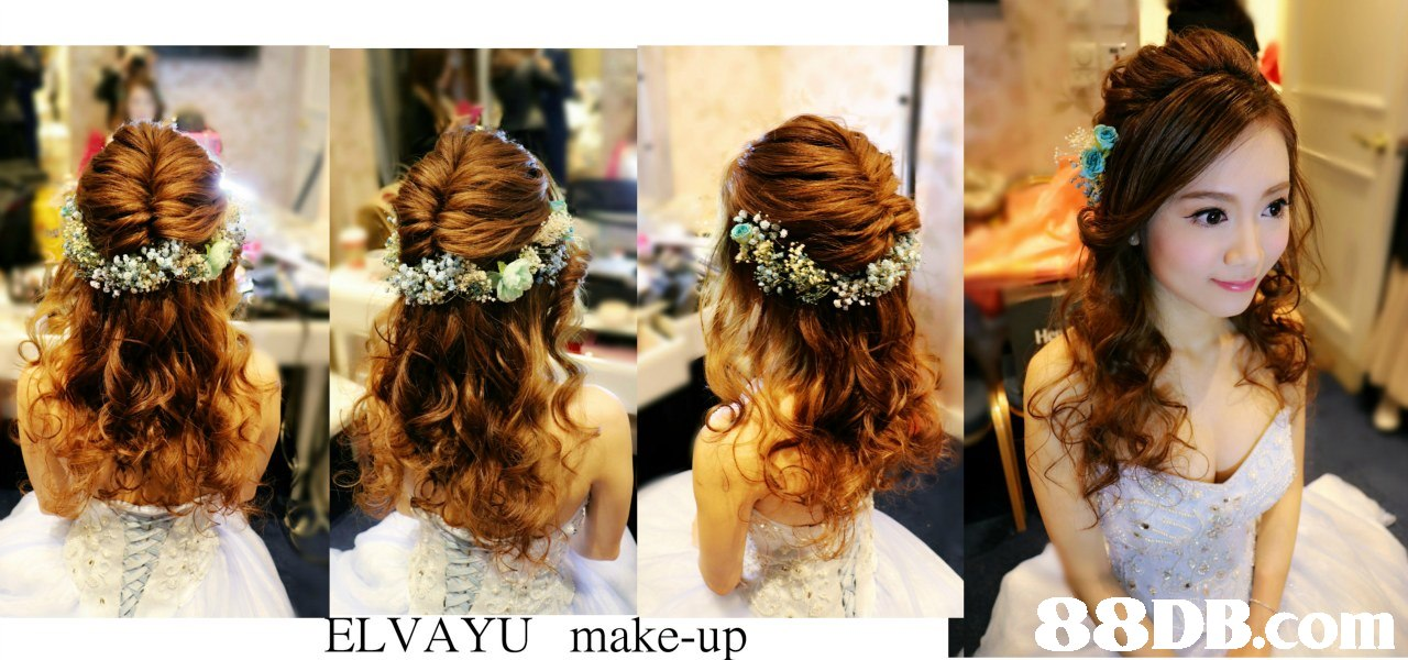 LVAYU make-up,hair,hair accessory,hairstyle,fashion accessory,headpiece