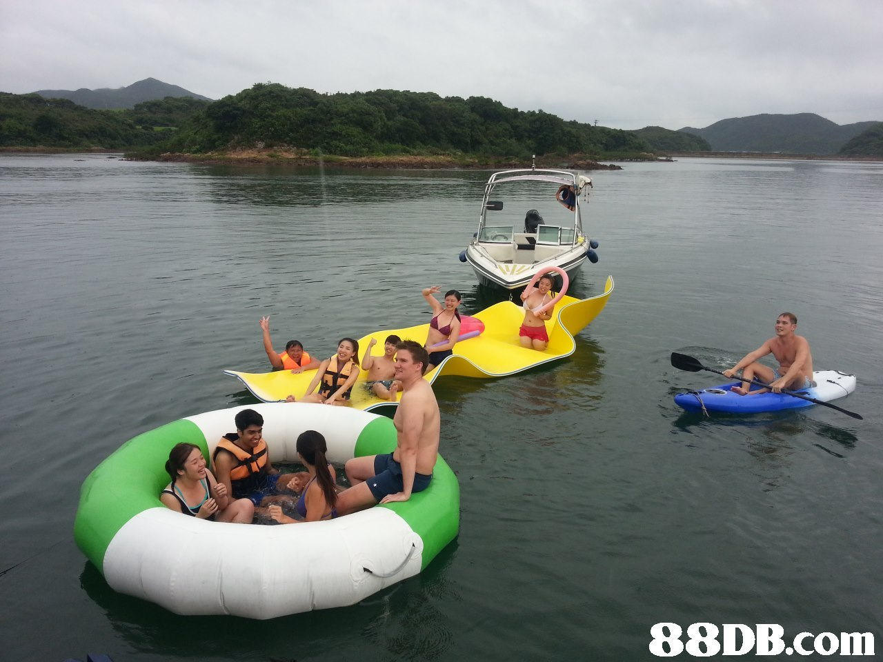 C.   Water transportation,Tubing,Vehicle,Recreation,Boating