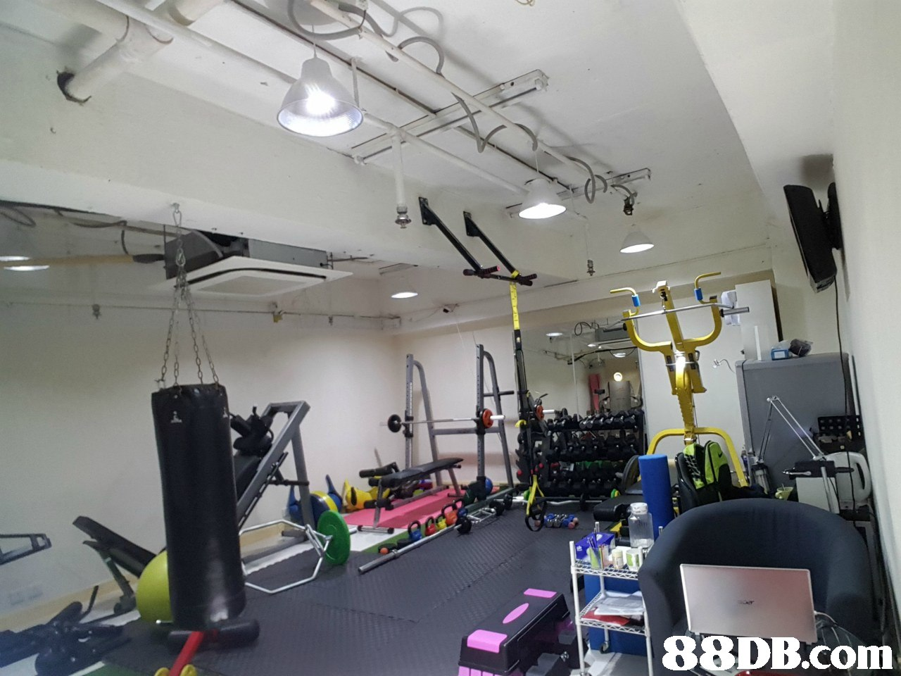 Gym,Room,Sport venue,Physical fitness,Exercise equipment