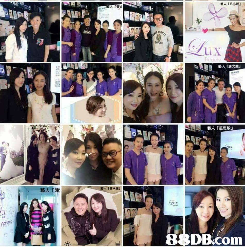 藝人『許亦妮』 藝人『唐文龍』 藝人『莊思敏』 藝人『曹永廉』 UX 88DB.com A1L  purple