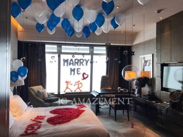 為您策劃最浪漫最動人的求婚 - 求婚策劃 場地佈置
