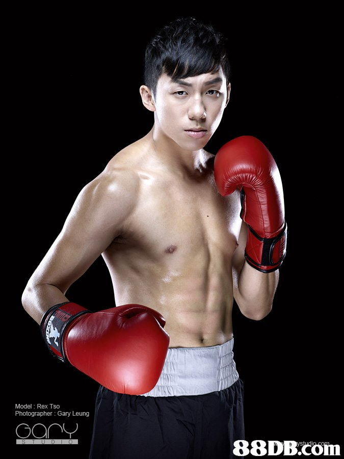 Model: Rex Tso Photographer: Gary Leung 88DB.com  professional boxing