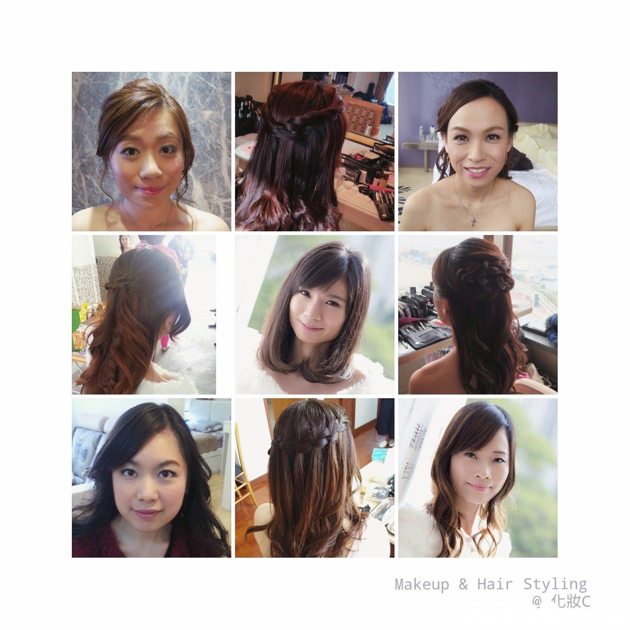 Makeup & Hair Styling @化妝C,hair,human hair color,hairstyle,hair accessory,fashion accessory