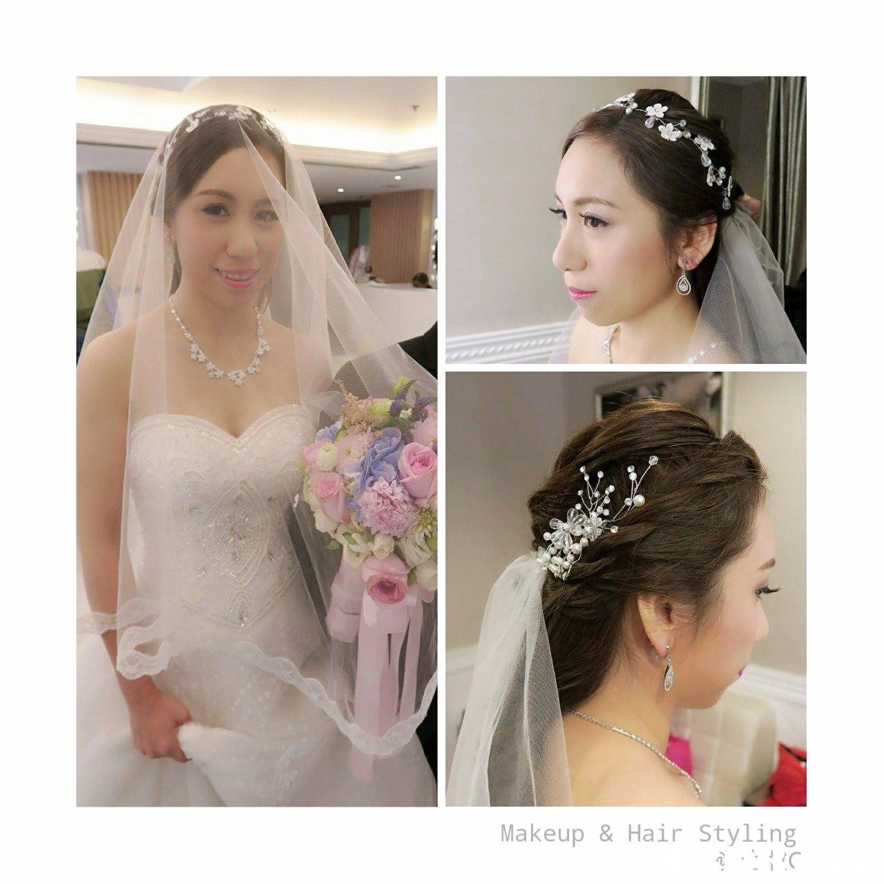 Makeup & Hair Styling,hair,bride,headpiece,hair accessory,jewellery