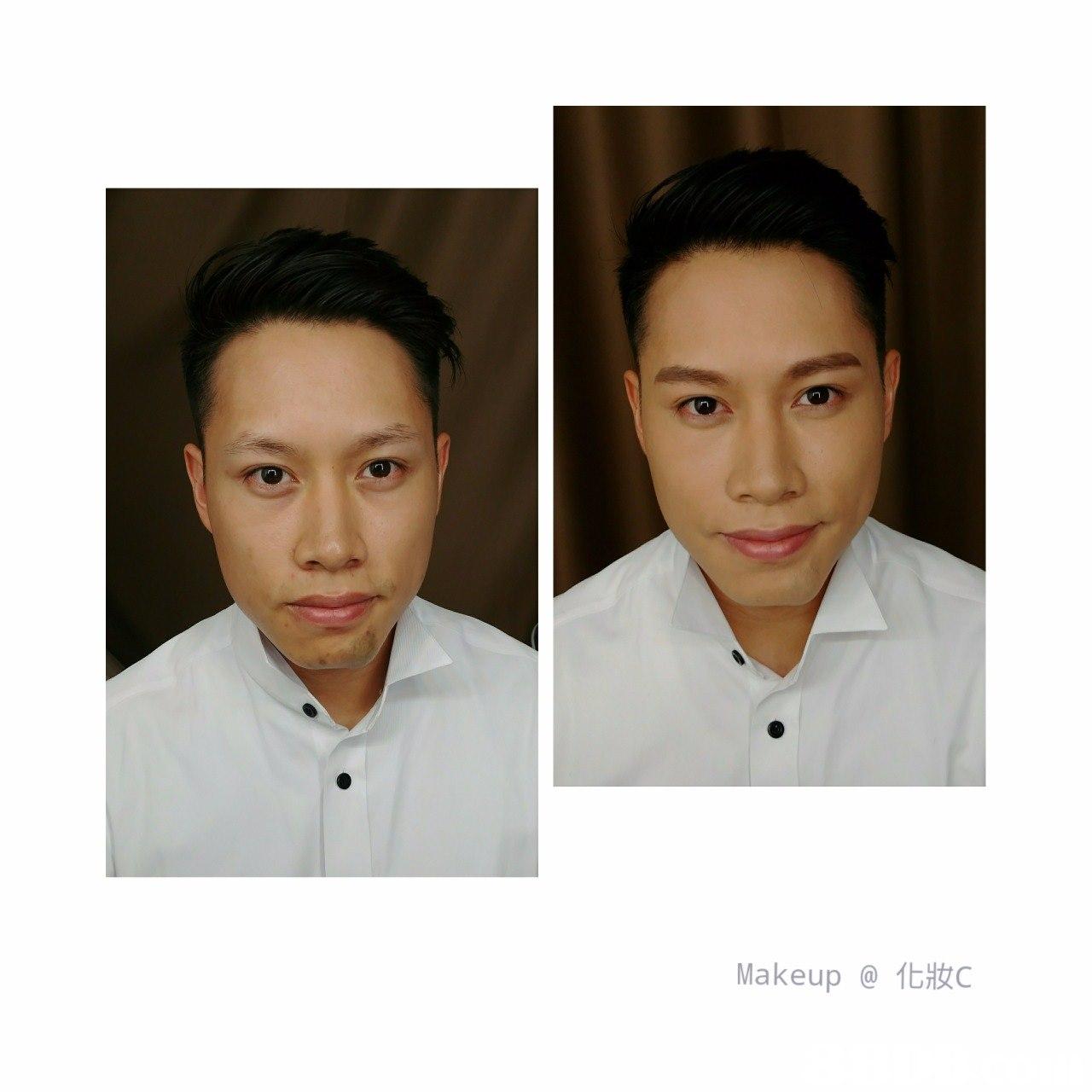 Makeup @化妝C,face,eyebrow,facial expression,chin,forehead