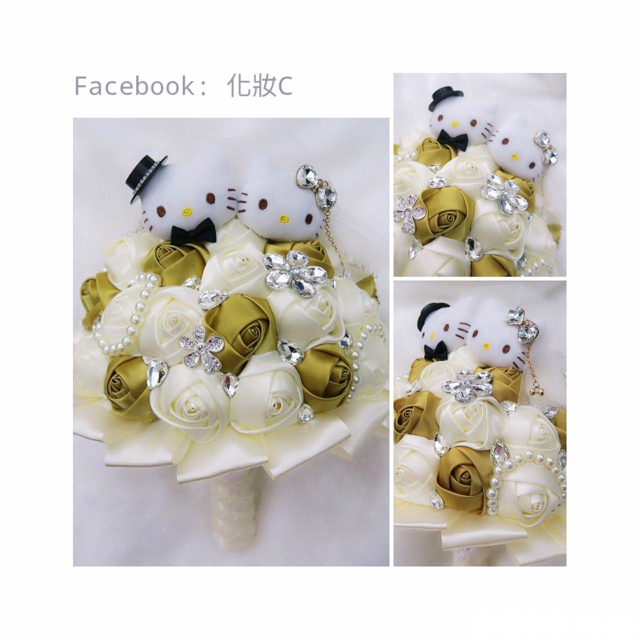 Facebook: 化妝C,flower,flower bouquet,cut flowers,petal,material