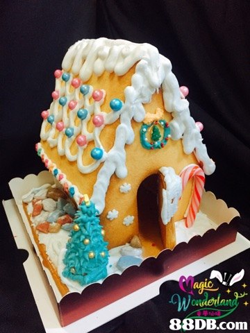88DB.com  gingerbread house