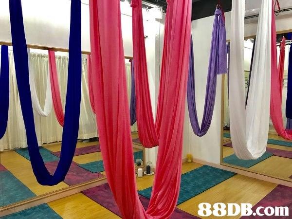 荔枝角站1min即到!$90/hr 瑜伽及空中瑜伽室