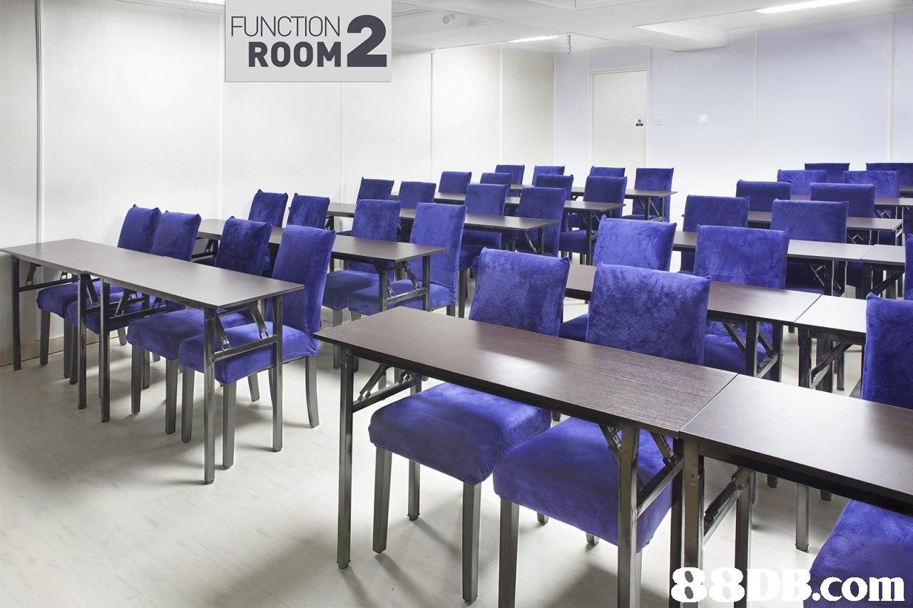 FUNCTION ROOM .com,purple,furniture,table,classroom,office