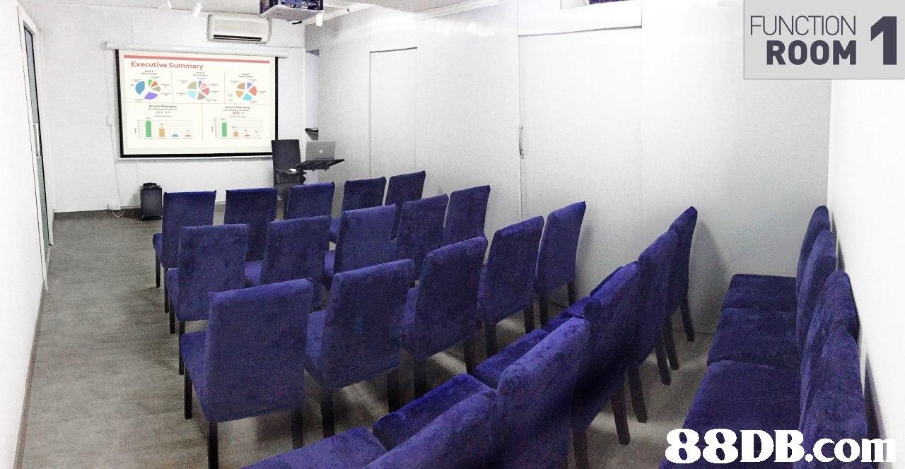 FUNCTION ROOM,purple,property