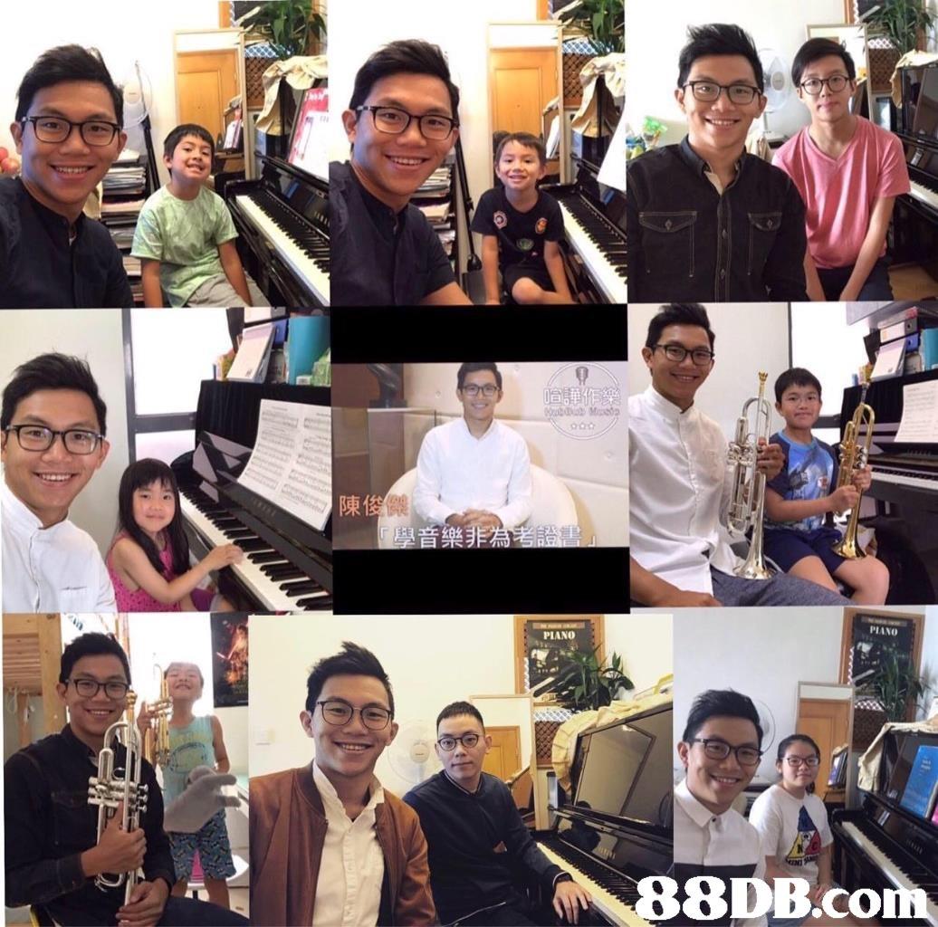 陳俊 PIANO PIANO 8DB.co  collage
