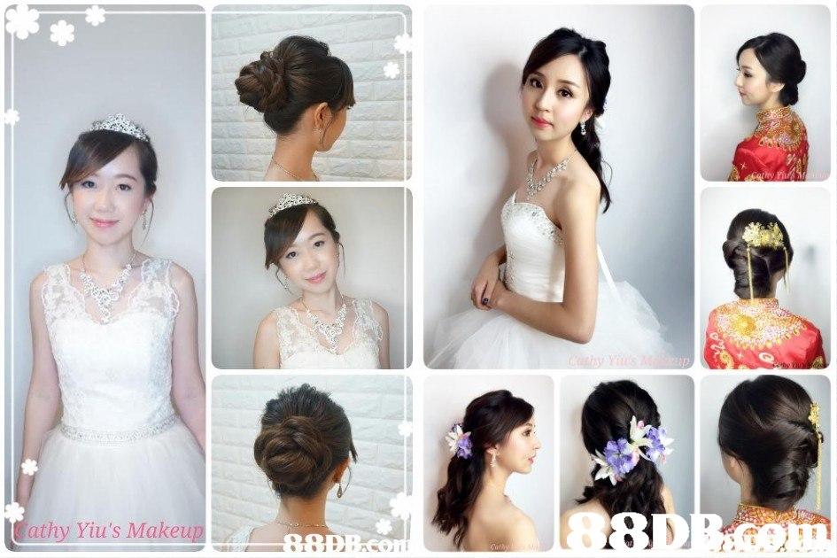 athy Yiu's Makeu  hair