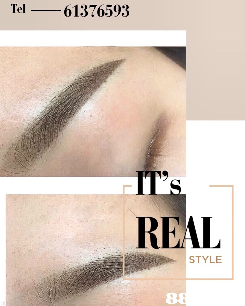 Tel -61376593 REAL STYLE 8  eyebrow,nose,chin,forehead,eyelash