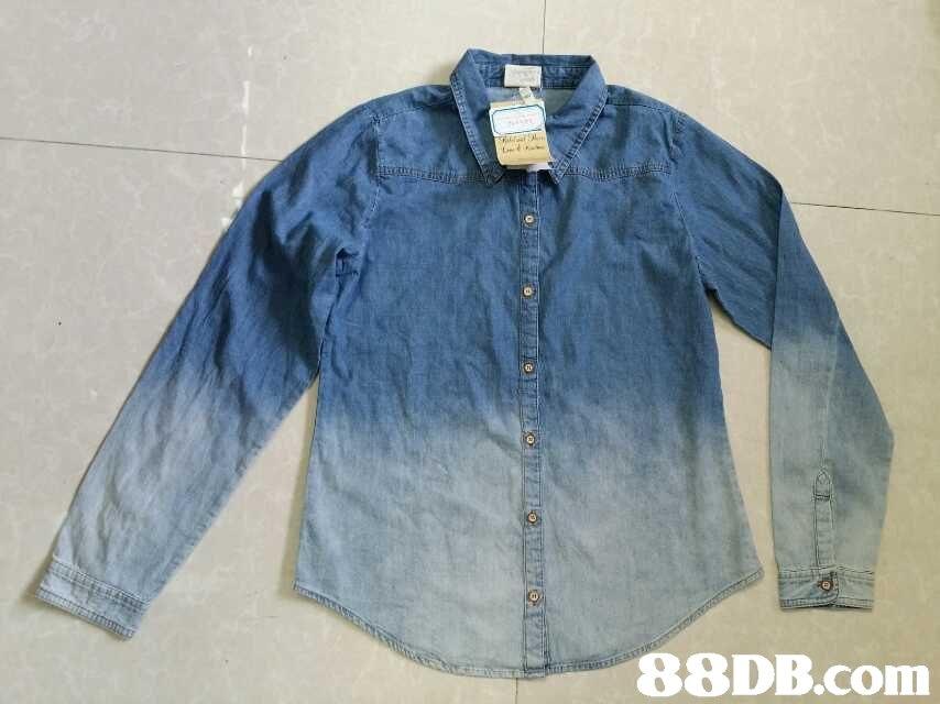 denim,sleeve,button,jeans,shirt