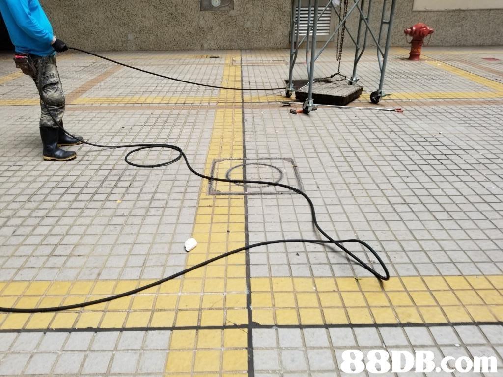 floor,yellow,net,flooring,structure