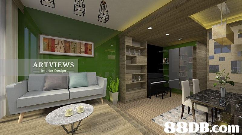 ARTVIEWS -Interior Design   interior design,living room,room,ceiling,condominium