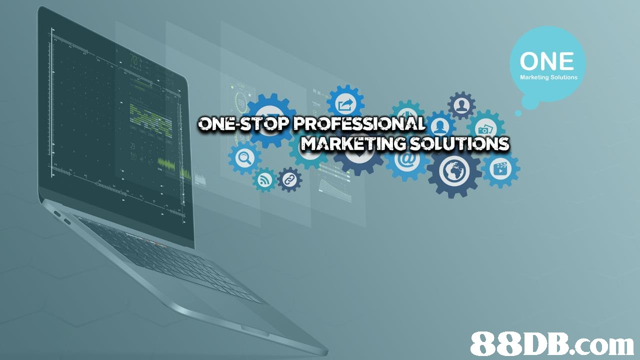ONE Marketing Solutions ONESTOP PROFESSIONAL Y. MARKETINGSOLUTIONS 88DB.com  technology