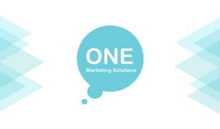 ONE Marketing Solutiona  blue