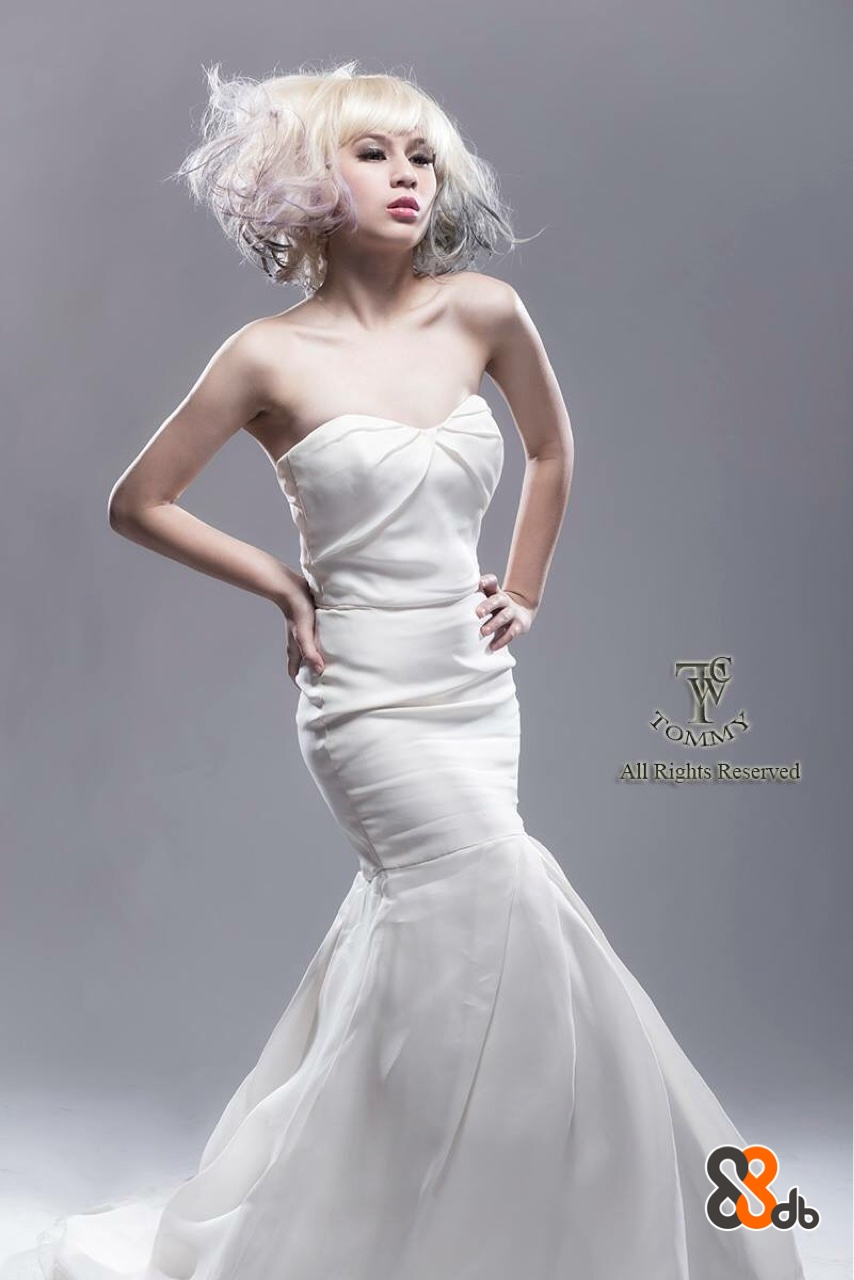 MMS All Rights Reserved  gown