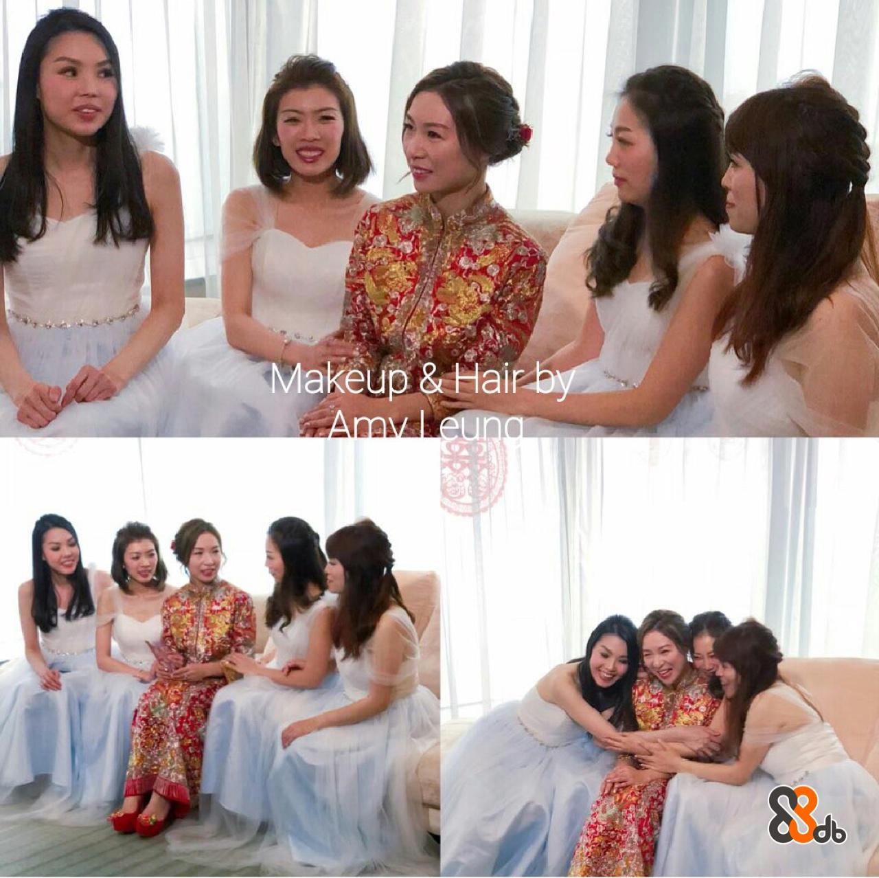Makeup & Hair b  woman,gown,bride,bridesmaid,wedding dress