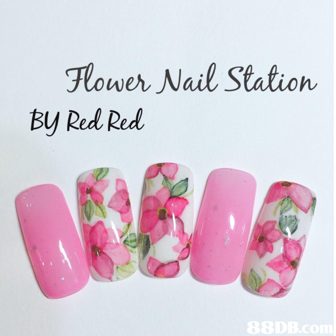 lower Nail Station By Red Red 8DB.com  Nail,Pink,Nail polish,Nail care,Artificial nails